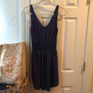 Babaton Purple Mini/Midi Dress